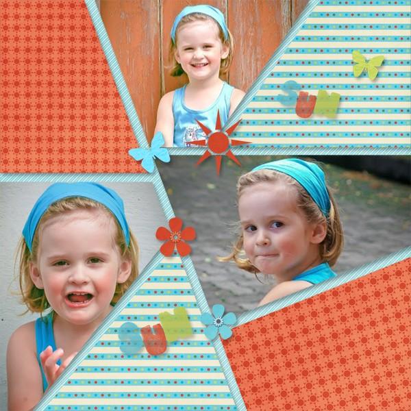 mosaiques template simplette page lady kit de LUS RAK Chelisa