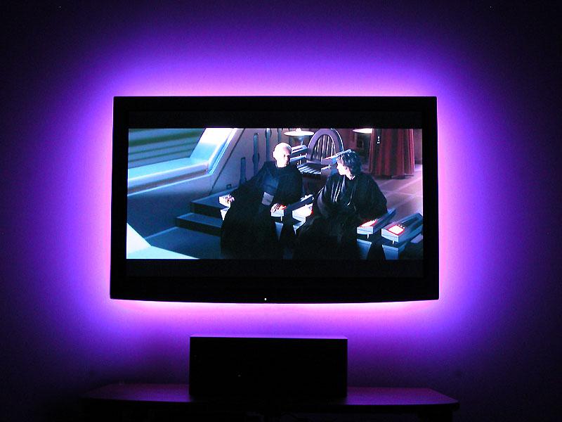 diodes lumineuses pour mettre derri re votre cran chez ikea page 97 29798654 sur le. Black Bedroom Furniture Sets. Home Design Ideas