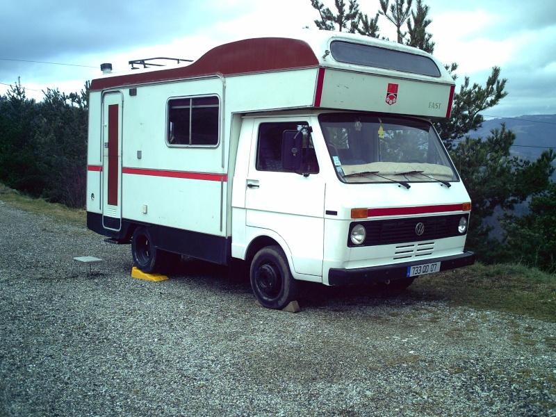 vends camping car lt35. Black Bedroom Furniture Sets. Home Design Ideas
