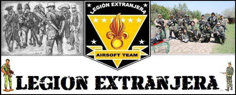 Legi�n Extranjera Airsoft Team