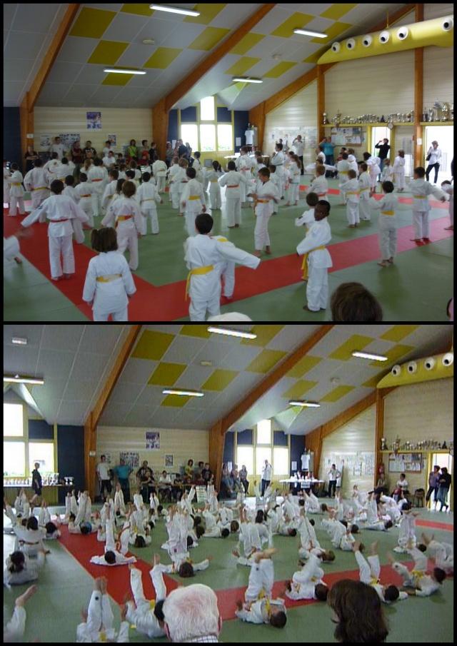 Compèt de Judo dans Mathias et Jorys 19-06-10