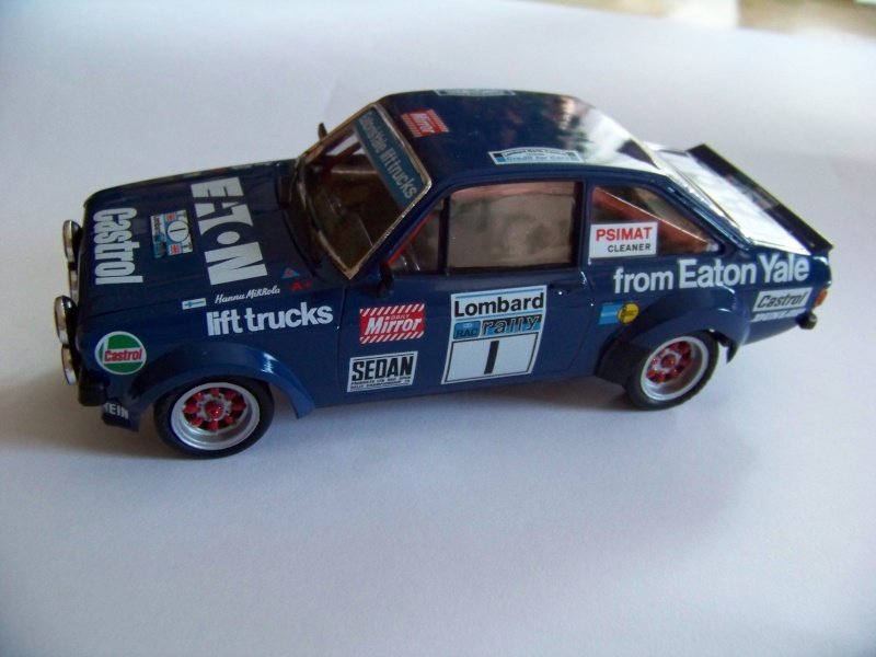 maquettes voitures ford escort rally. Black Bedroom Furniture Sets. Home Design Ideas
