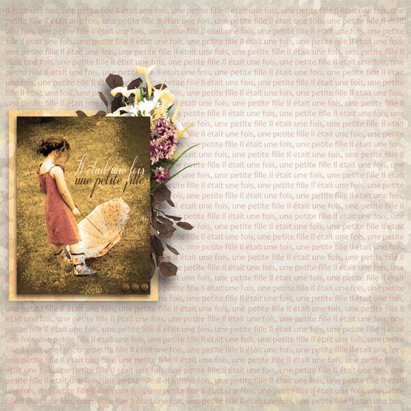 fleurs du mal kit simplette page simplette rak marie