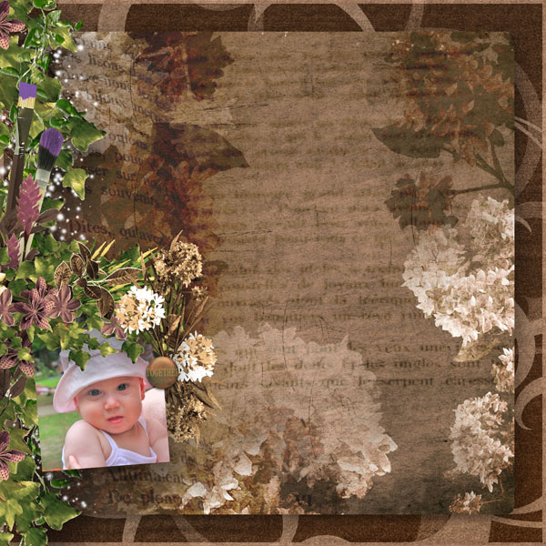 fleurs du mal kit simplette page simplette rak hekas