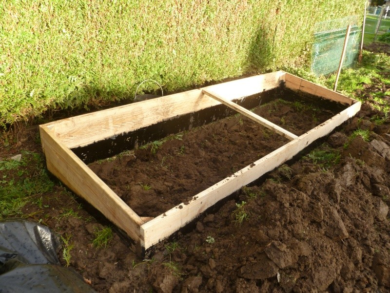 Constrution d 39 un chassis pour les semis - Comment fabriquer un chassis de jardin ...