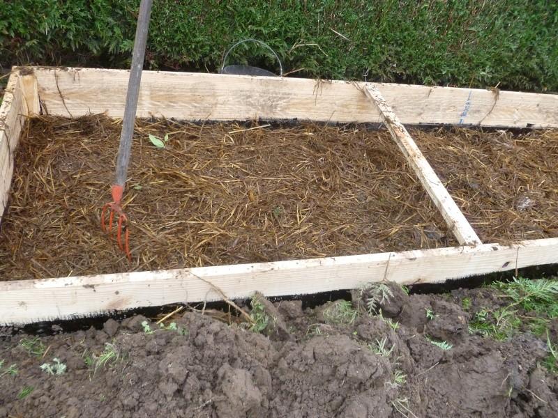 Constrution d 39 un chassis pour les semis - Quand mettre du fumier de cheval dans le jardin ...