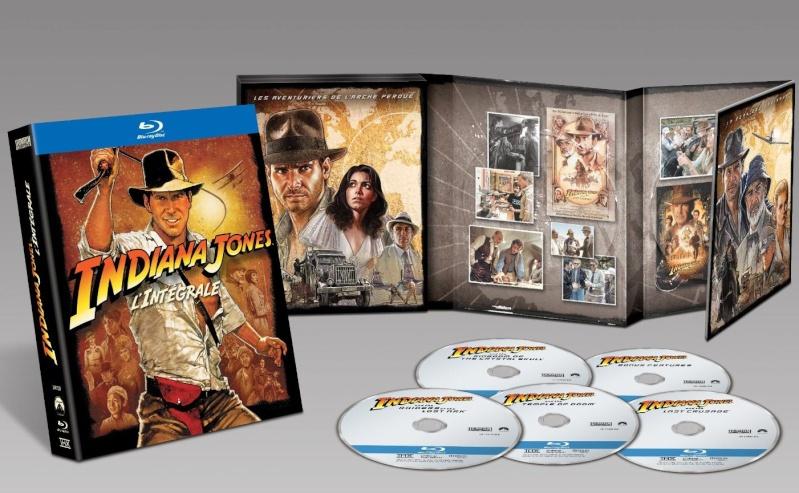 Indiana Jones en croffret blu ray
