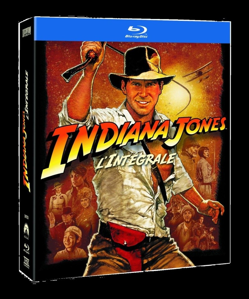 Indiana Jones en croffret blu ray
