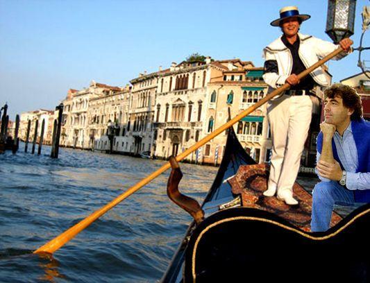 Claude Barzotti à Venise