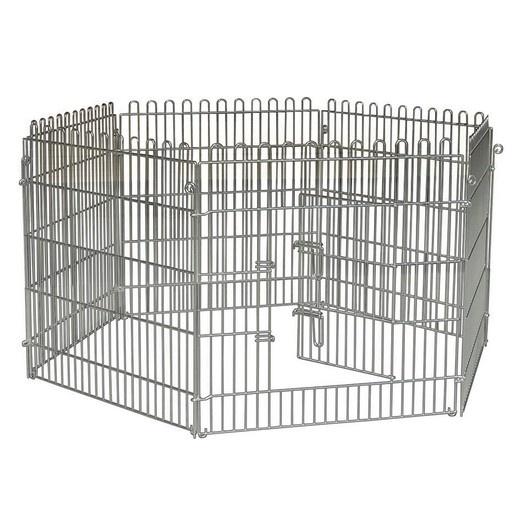 cage grillag et parc chien. Black Bedroom Furniture Sets. Home Design Ideas