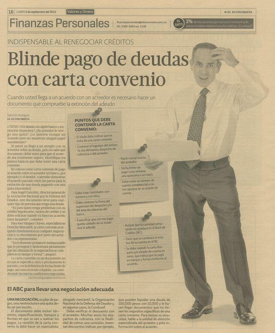 Negociación - Defensa Del Deudor - Asesoria, defensa y negociacion ...