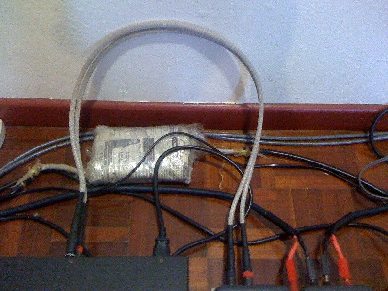 NBS Junior RCA interconnect(used)