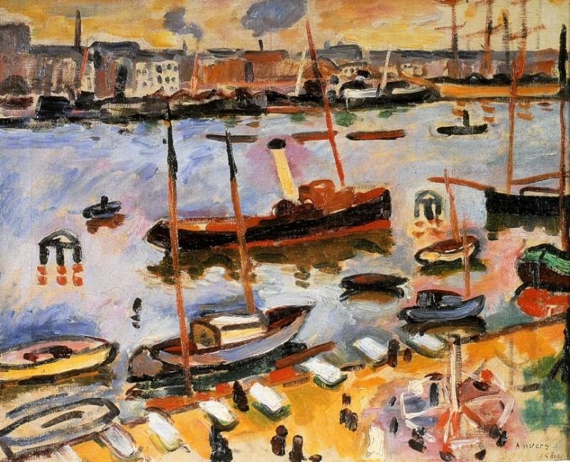 Le cercle de l 39 art moderne 1906 le havre for Braque peintre