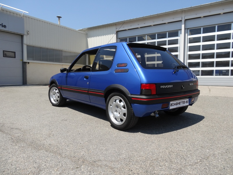 peugeot 205 gti 1900 bleu miani 106 rallye votre voiture moto detailing art. Black Bedroom Furniture Sets. Home Design Ideas