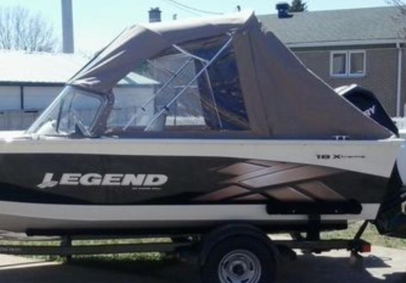 bateau de peche legend a vendre