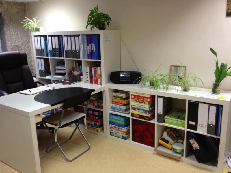 Maj agencement cr ation de mon bureau professionnel dans for Idee decoration bureau maison