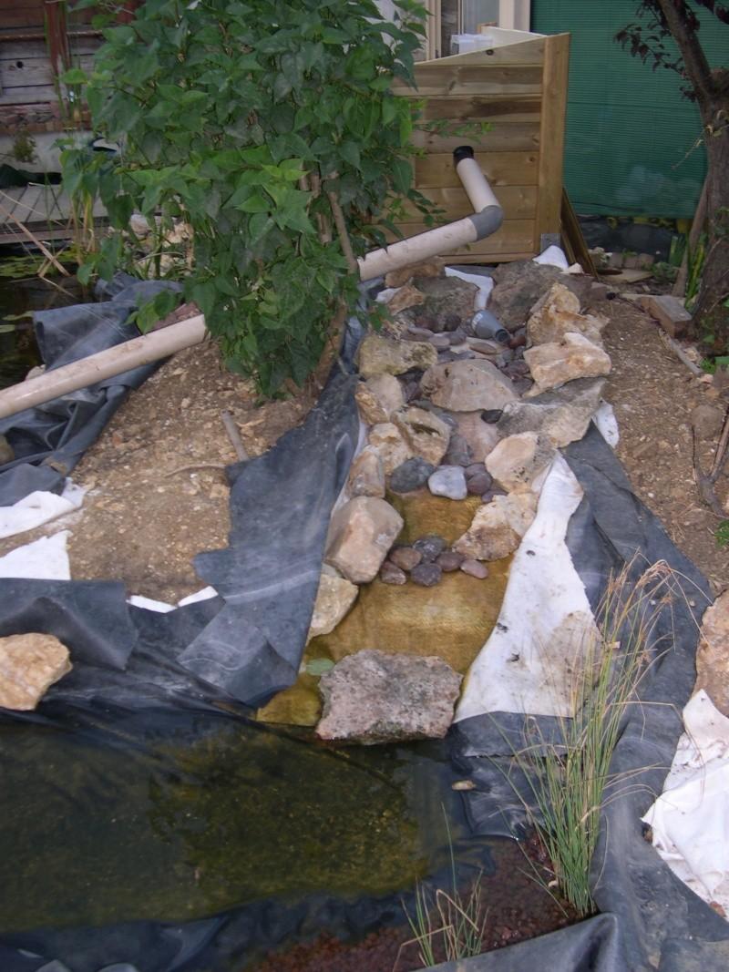 Comment Faire Un Petit Bassin Aquatique problème de conception de cascade et ruisseau - forum