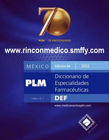 PLM Vademecum Mexico 2012