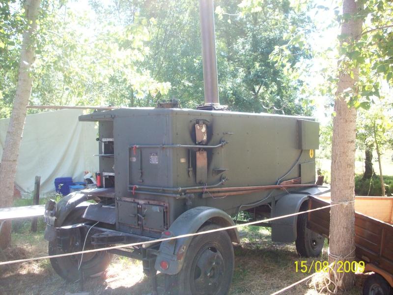 Four pain mobile allemand for Piscine mobile sur camion