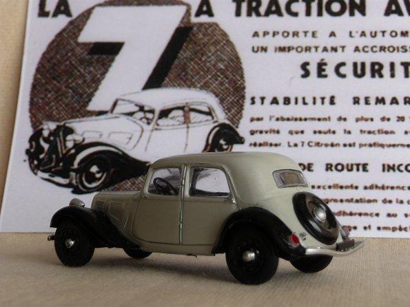 miniatures 1 43 me citro n traction avant 7 cv 1934. Black Bedroom Furniture Sets. Home Design Ideas