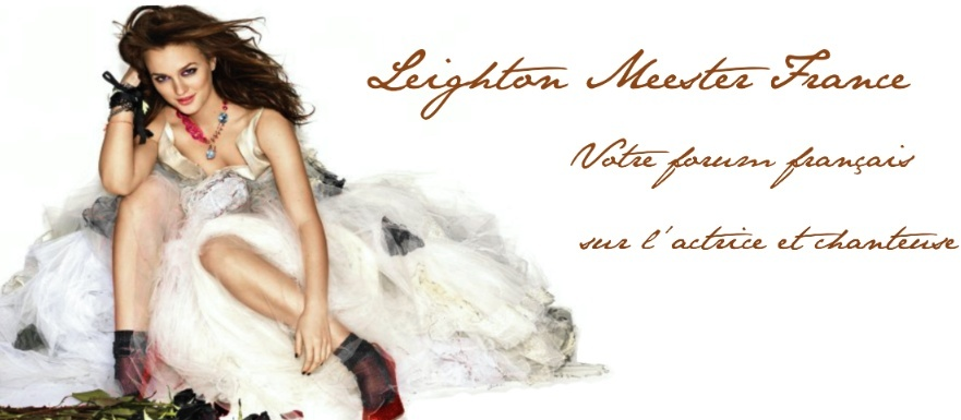 Leighton Meester France