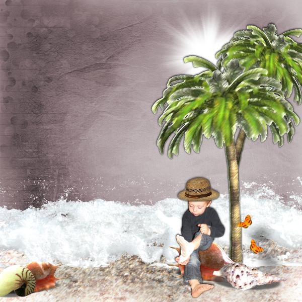 summertime kit simplette page lauso