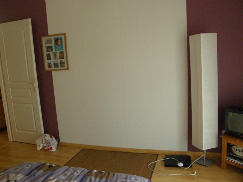 conseil pour d co chambre adulte peinte en partie en figue. Black Bedroom Furniture Sets. Home Design Ideas