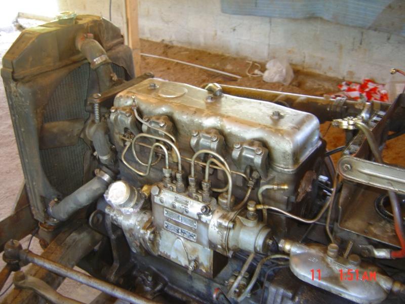 repère calage distribution moteur jeep willys