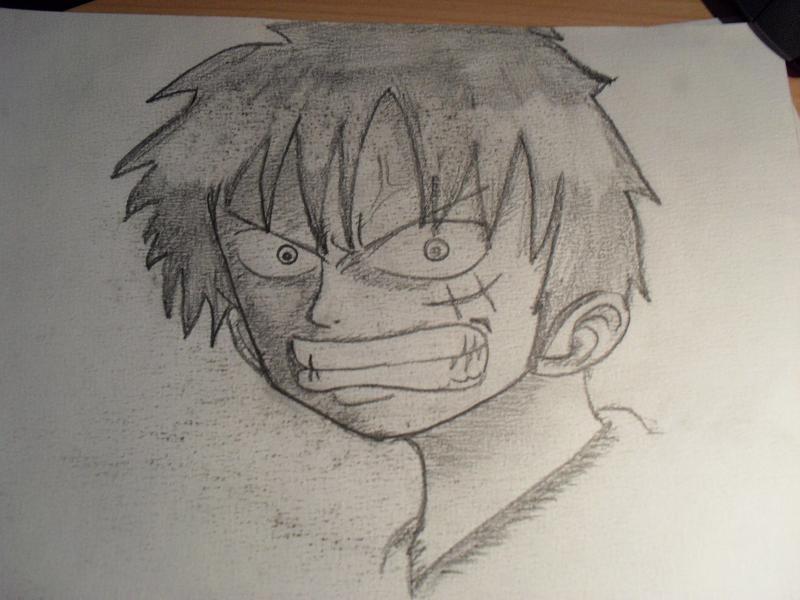 One Piece Gezeichnet