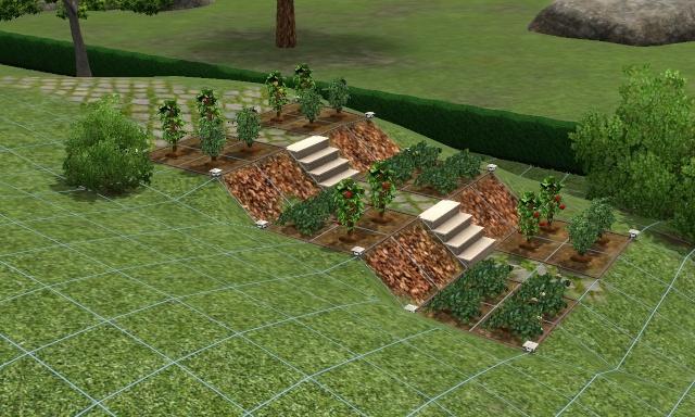 Atelier de construction de maison pour d butant sims 3 for Piscine jardin en pente