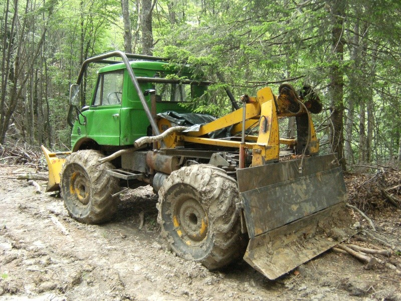 treuil forestier unimog