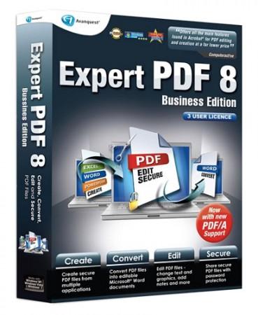 ������ ����� ������ �� ���� ������ Avanquest Expert Pdf Professional v8.0