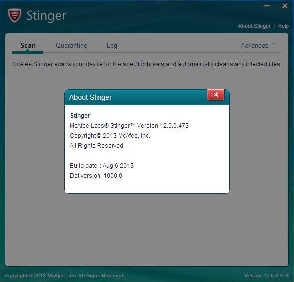 ���� ���� ������ ����� �� ��������� �������  ����� ����� 6/8/2013-McAfee Labs Stinger