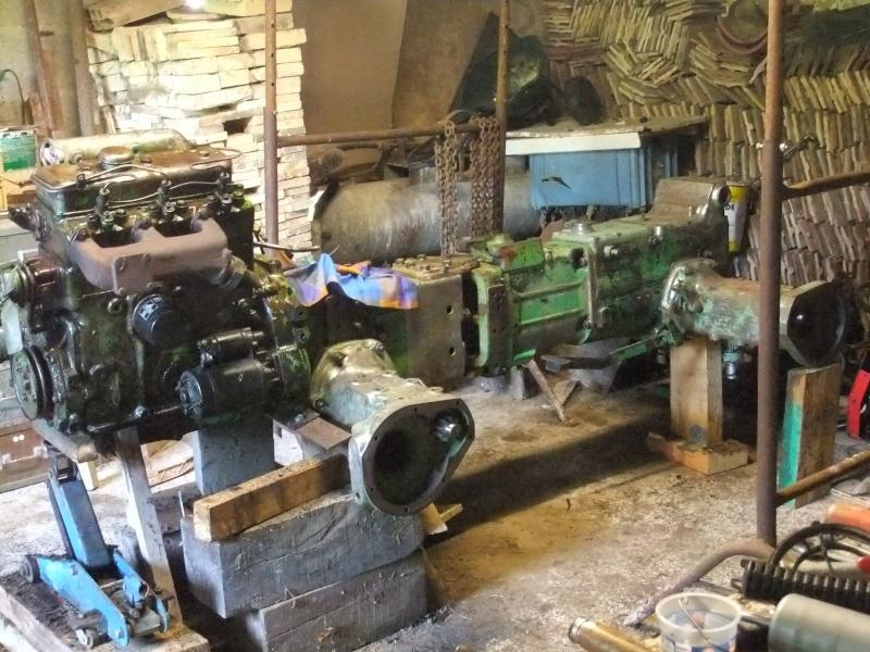 Concessionnaire tracteur holder