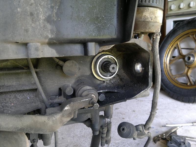 how to fix a broken drive shaft