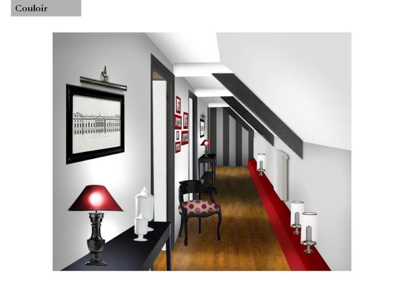 Idee Amenagement Couloir - Maison Design - Sphena.Com