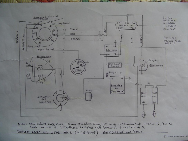 Acr Alternator Wiring Diagram : Acr lucas alternator wiring diagram