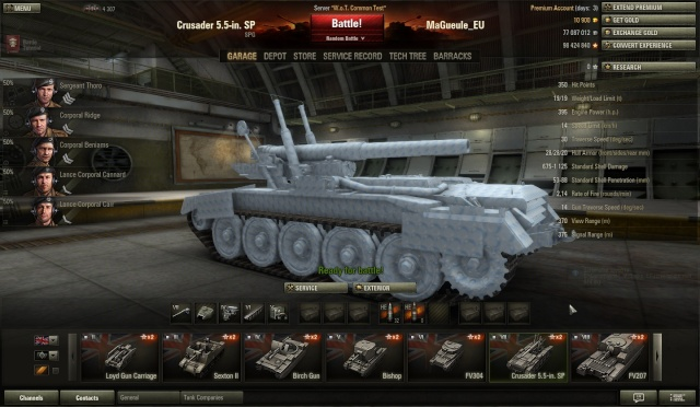 Roulette world of tanks